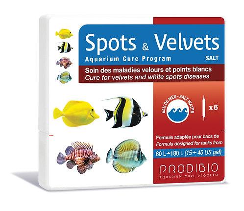 Spots & Velvets Salt 6 vials