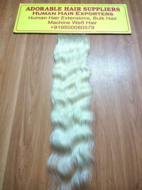 #613 Indian Blonde Lace Closure(4x4 AND 5X5)