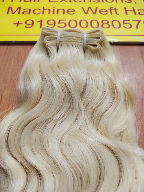 # 613 Blonde Indian Remy Hair Extensions