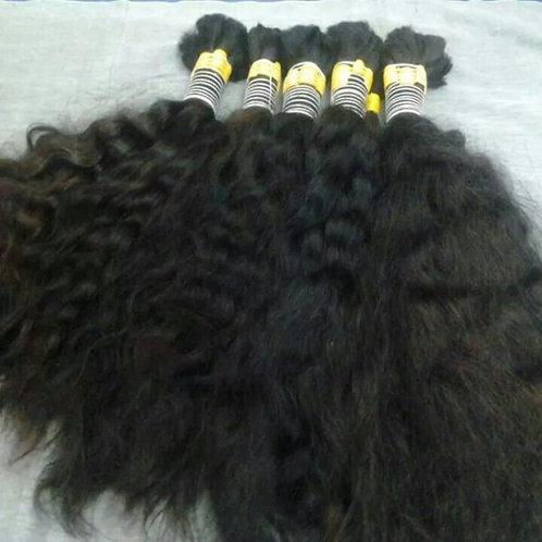 Bulk Hair for Braiding Curly(100 gram(3.5 oz)