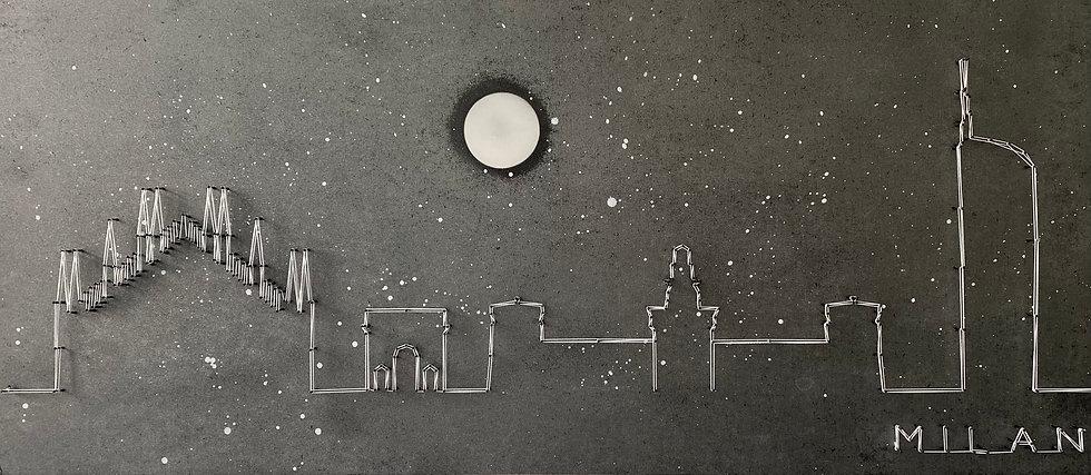 Skyline (senza cielo) Milano, Italia 🇮🇹