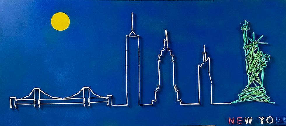 Skyline (senza cielo) New York, Stati Uniti 🇺🇸