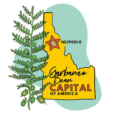 Garbanzo Bean Capital of America LOGO BI