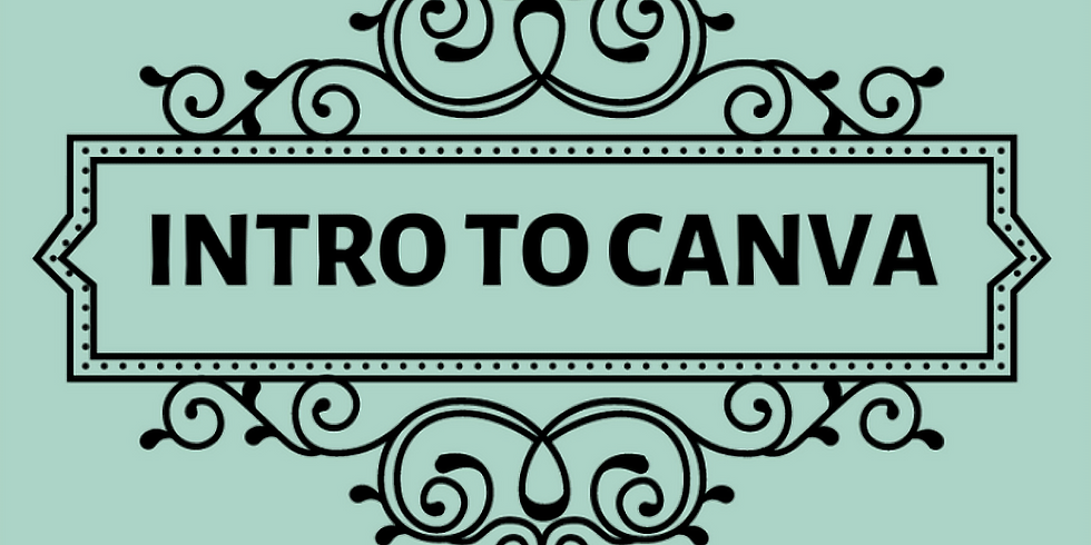 Intro to Canva October 28th @ 2PM MST - $50.00