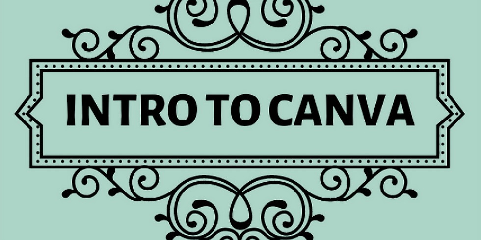 Intro to Canva October 30th @ 2PM MST - $50.00