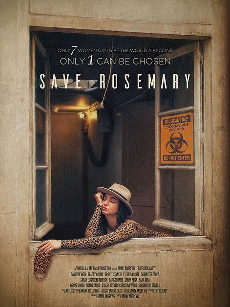 SAVE ROSEMARY BILLBOARD - Woman In Windo