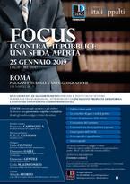 FOCUS i contratti pubblici: una sfida aperta
