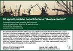 """Gli appalti pubblici dopo il decreto """"Sblocca Cantieri"""""""