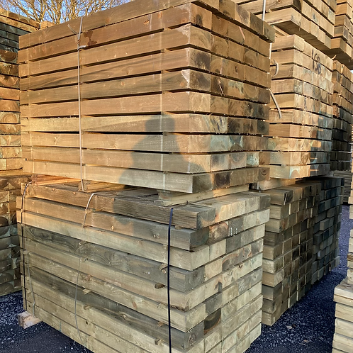 Green greated Sleepers 1.8m