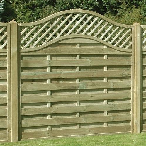Omega Fence Panels