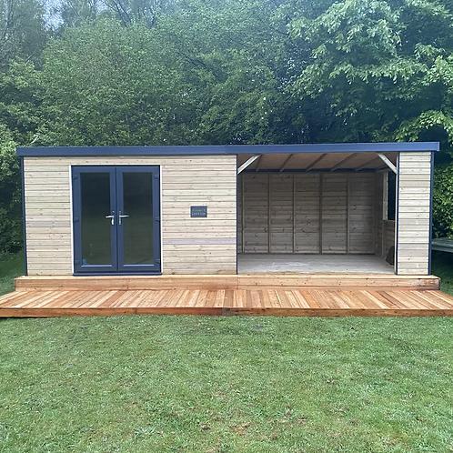 Timber/uPVC garden room/shelter