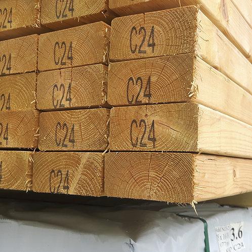 Treated C24 Construction Grade Timber