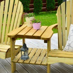 Garden twin chairs
