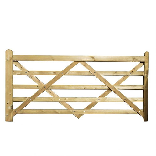 Treated Wooden Gate 3600mm