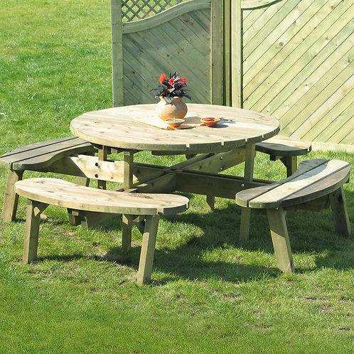 Pressure treated picnic bench