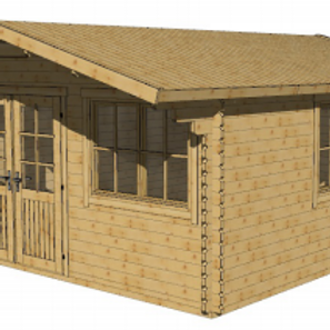 The Violet - Log Cabin