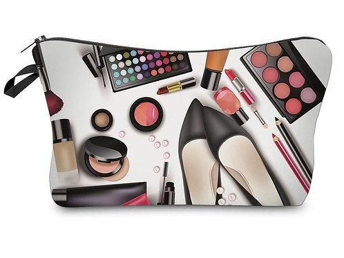 Makeup Print Cosmetic Bag