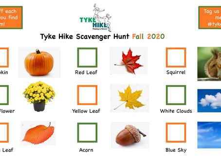 Fall Scavenger Hunt!