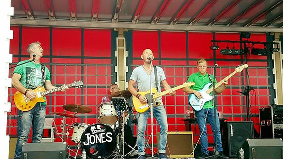 Mr Jones The Band