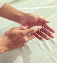 Handen Massage en Olie