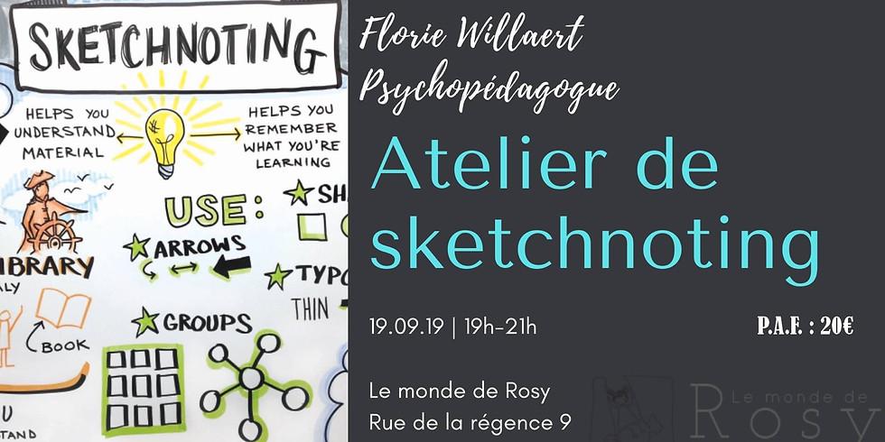Atelier pratique de Sketchnoting • Soignies