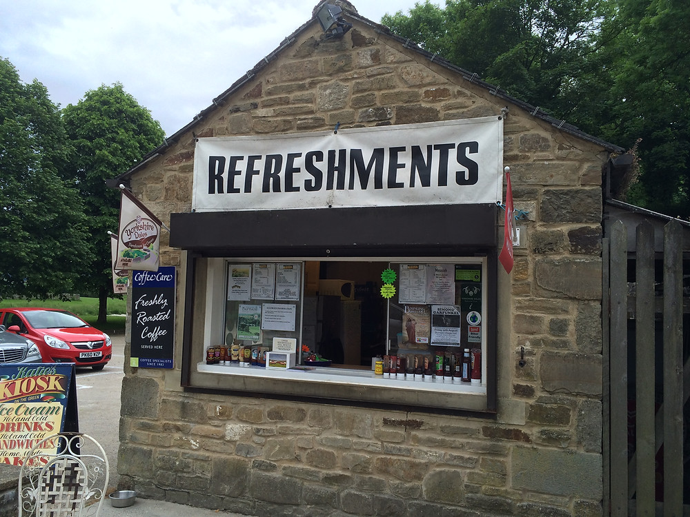 The original kiosk