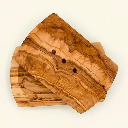 Handmade Olive Wood Soap Dish