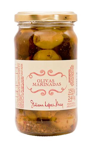 Olivas Marinadas - Juliana Lopez May - 240gr