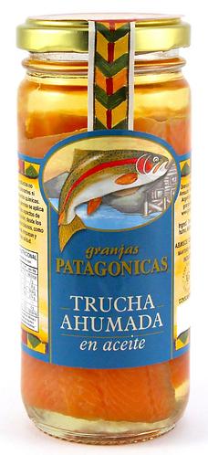 Trucha Ahumada en Aceite 200cc