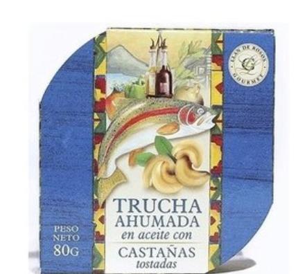 Trucha en Aceite con Castañas Tostadas 80gr