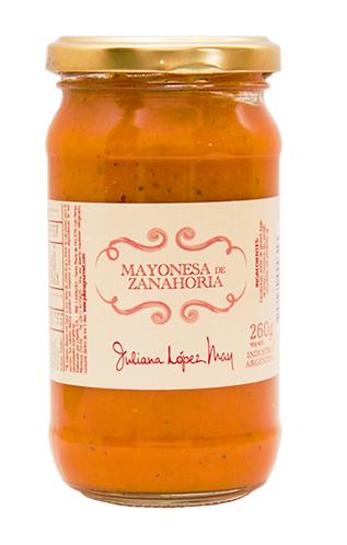 Mayonesa de Zanahoria- Juliana Lopez May - 265gr