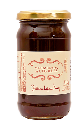 Mermelada Cebollas Caramelizadas - Juliana Lopez May -310gr