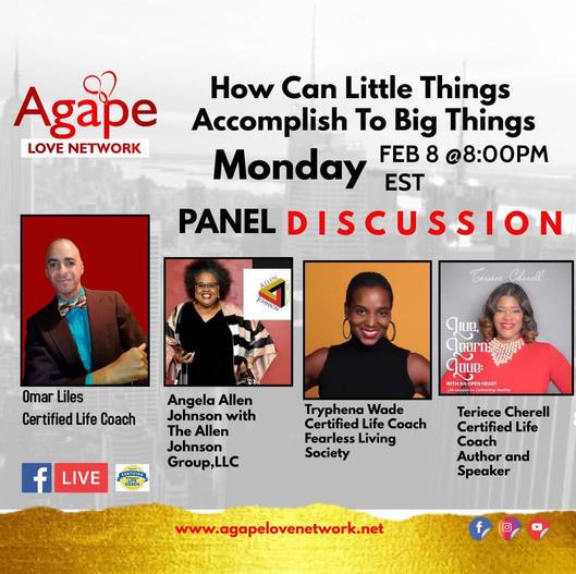 Agape Love Network- Accomplish Little Th
