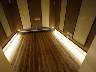 結城市 「平屋・木の家」完成見学会  リスニングルームで試聴できます!