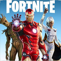 Fortnite Game Cover art