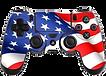 American Flag Playstation Controller