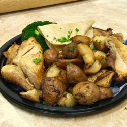 Whole Chicken with Potatoes
