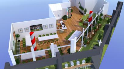 Robinsons Wimbledon 3D renders