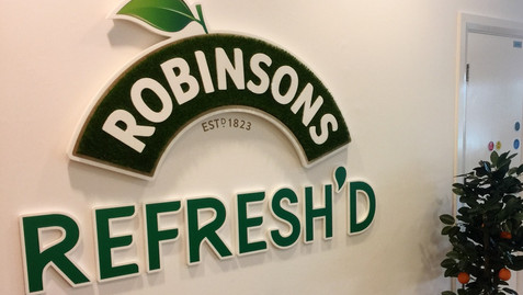 Robinsons entrance sign