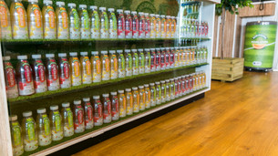 Robinsons display shelves