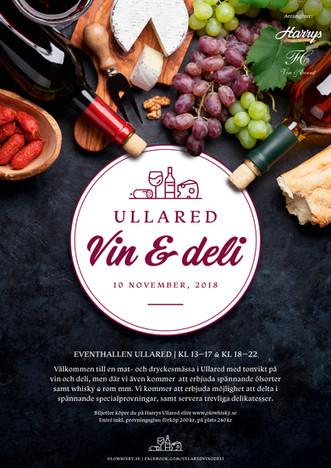 Affisch & Logotyp – Ullared Vin & Deli