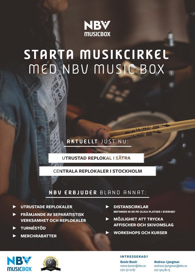 Affisch – NBV Stockholm