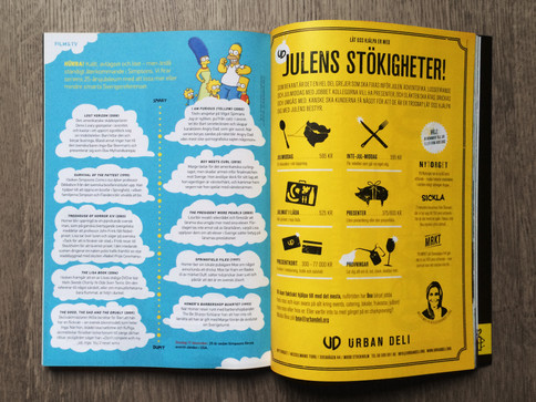 Layout – Simpsons, Filter