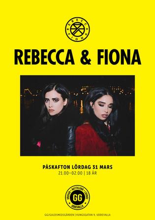 Affisch – Rebecca & Fiona