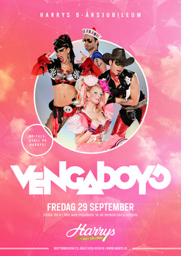 Affisch – Vengaboys