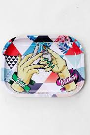 Tin Rolling Trays - Various Designs