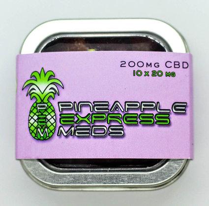 200 MG CBD Gummy Bears - Pineapple Express Meds