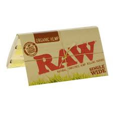 Raw Natural Single Wide Papers