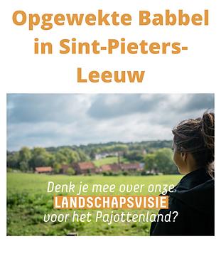 Kopie van Ook [gemeente] werkt mee aan een Landschapsvisie 2040 voor het Pajottenland. Wil