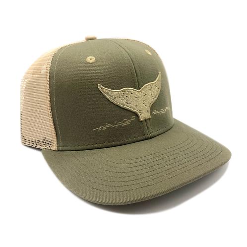 Green and Khaki Trucker Hat